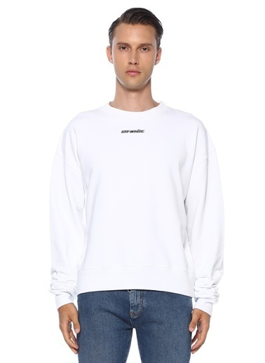 Off-White Sweatshirt Mavi